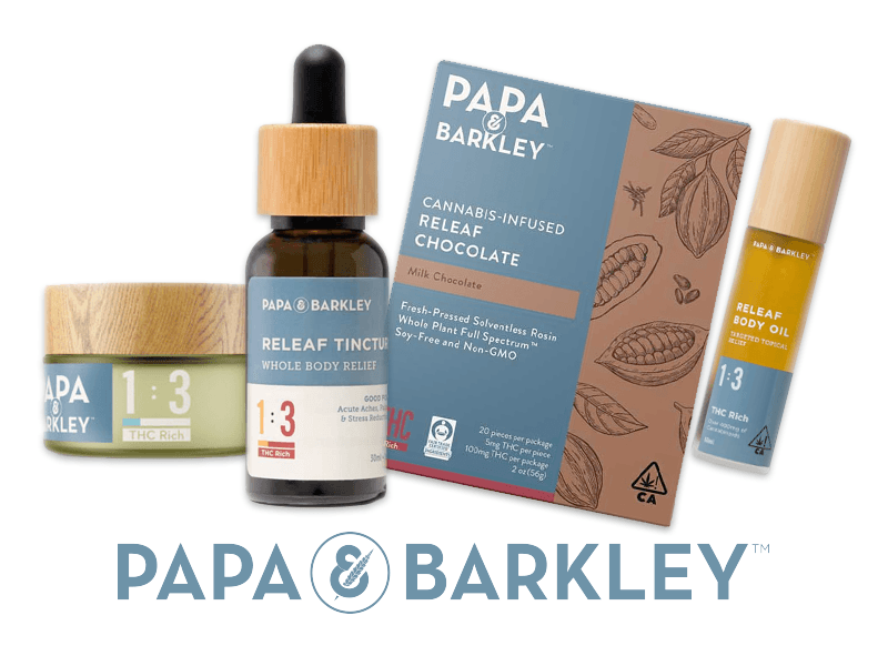 Browse new Papa & Barkley products